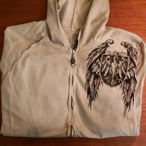 Affliction 'The Guardian' mens hoodie Med